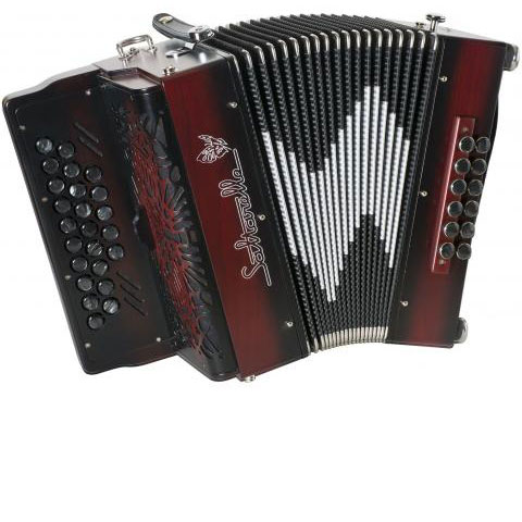 Inferno-style Luchta accordion