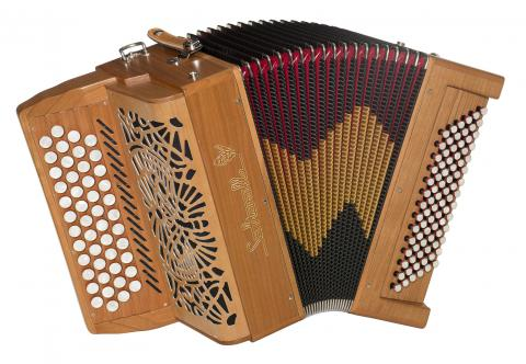 Bourroche accordion