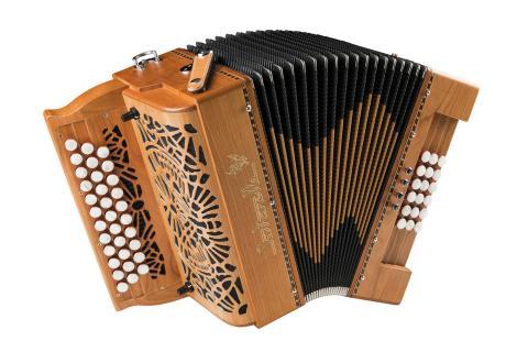 Océan 18 accordéon diatonique