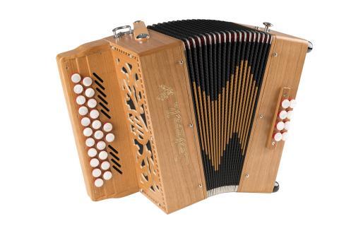 Parisien accordéon diatonique