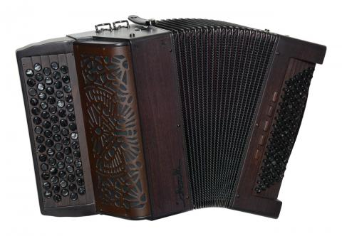 Pannonica accordéon chromatique Saltarelle