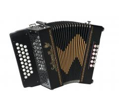 accordéon diatonique à clavier plat Cheviot