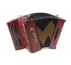 elfique 19 rouhe accordéon diatonique