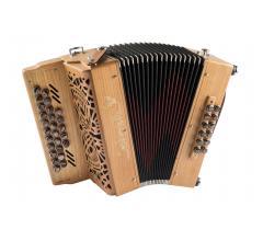 pastourelle 2 cerisier accordéon diatonique