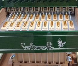 Accordéon Aether 3 en fabrication