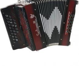 Bel accordéon modèle Luchta Inferno
